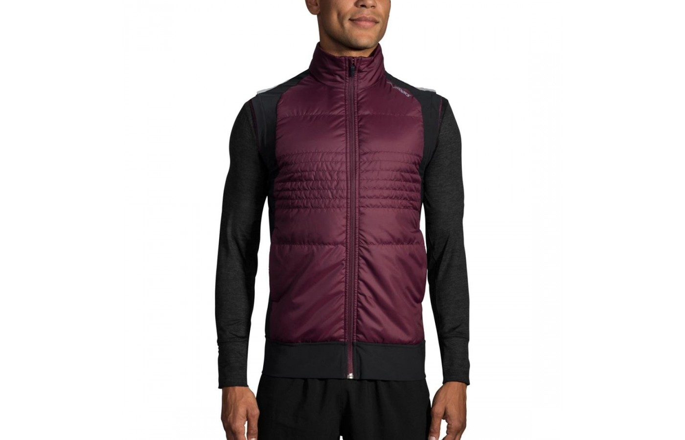 Brooks Cascadia Vest raisin