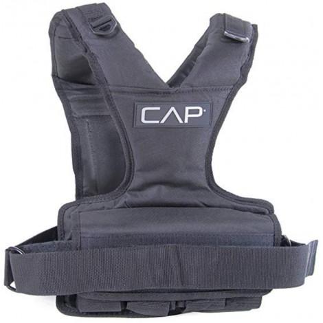 Cap barbell weight vest