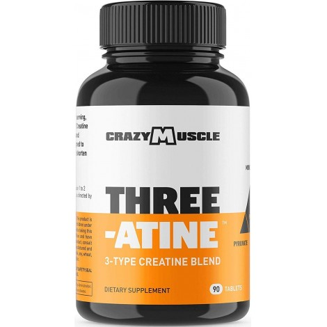 Crazy Muscle Three-Atine  muscle building supplement for men