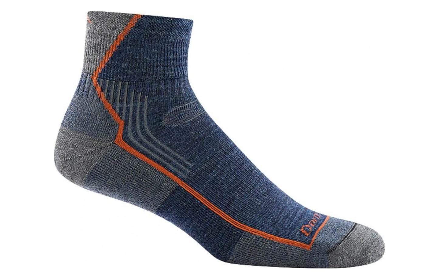 Darn Tough Hiker Socks denim