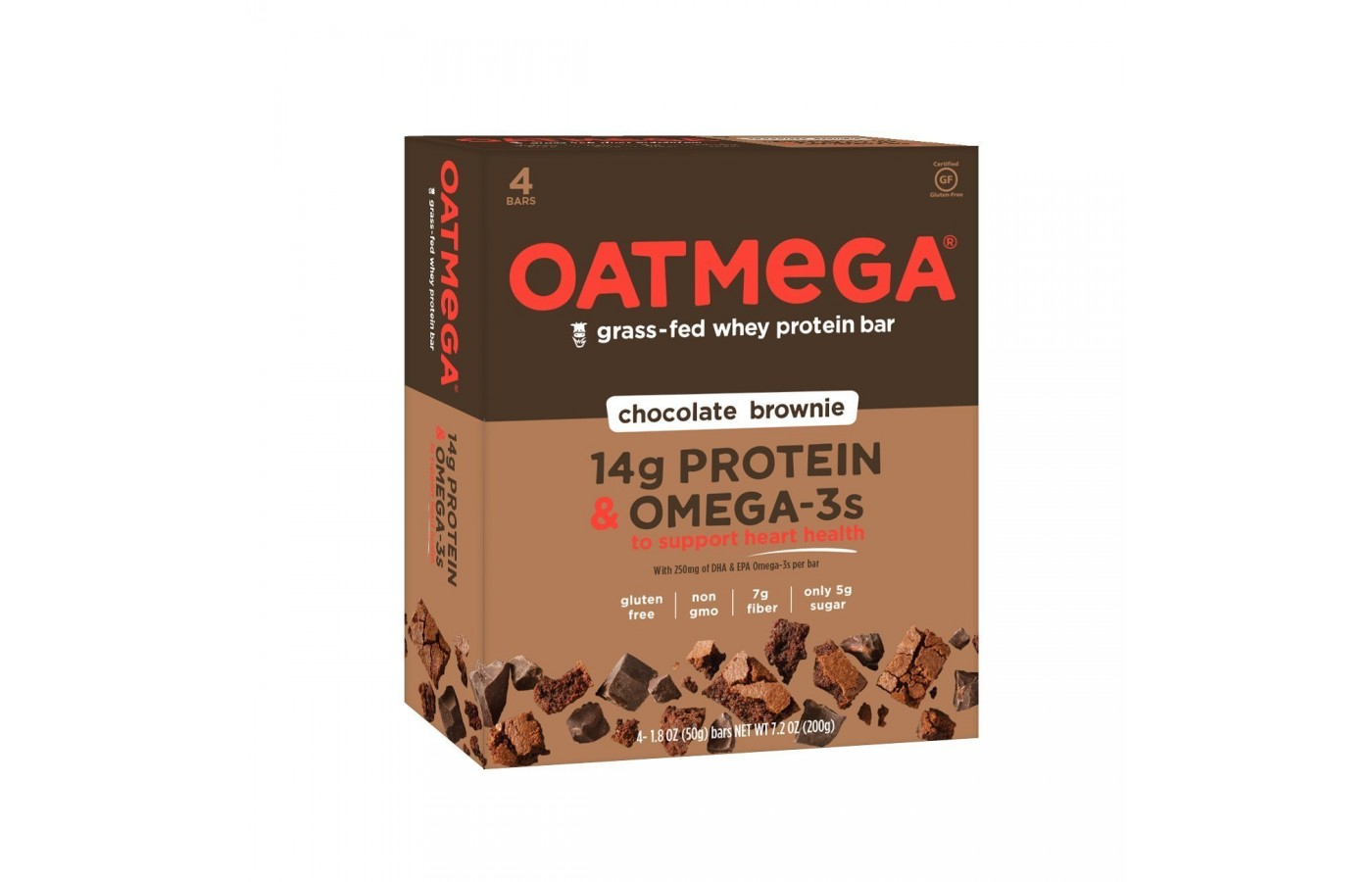Oatmega Bar choc brownie