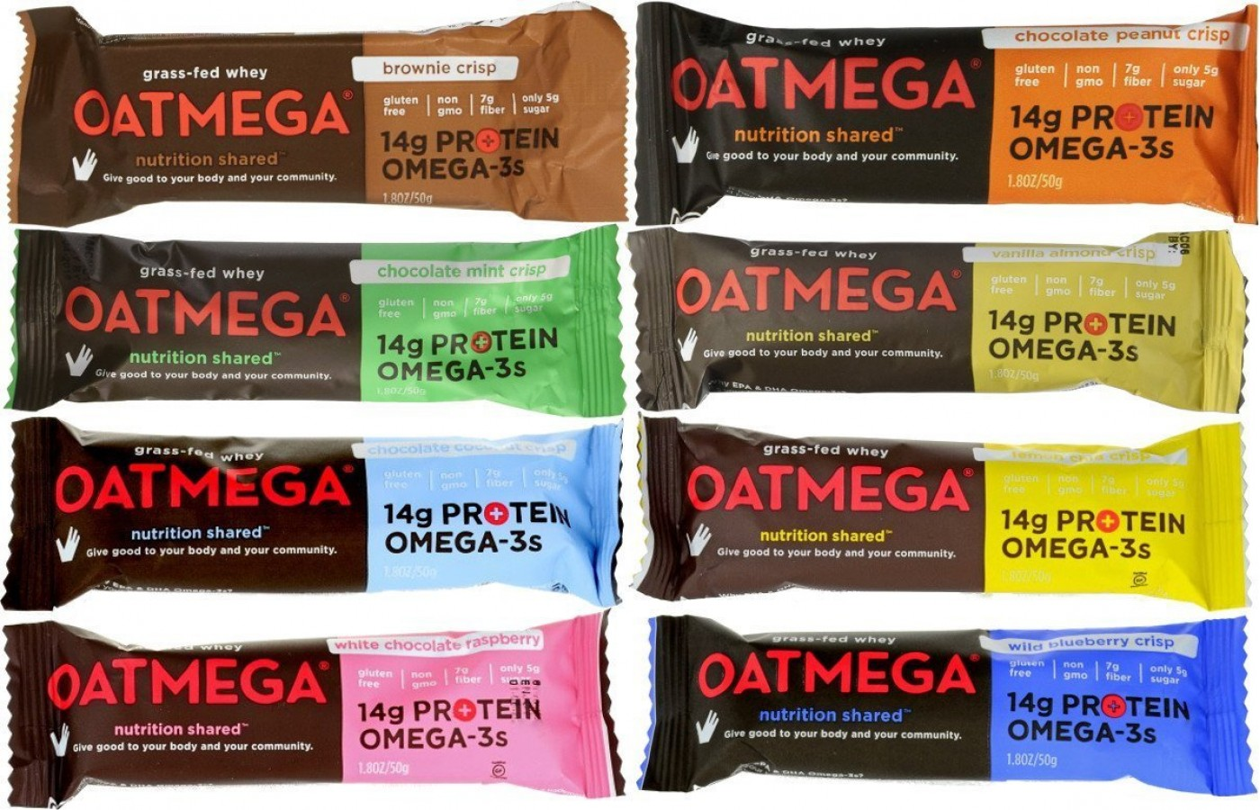 Oatmega Bar variety bars