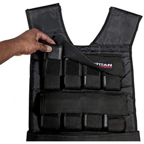 Titan Fitness Adjustable men's weighted vest