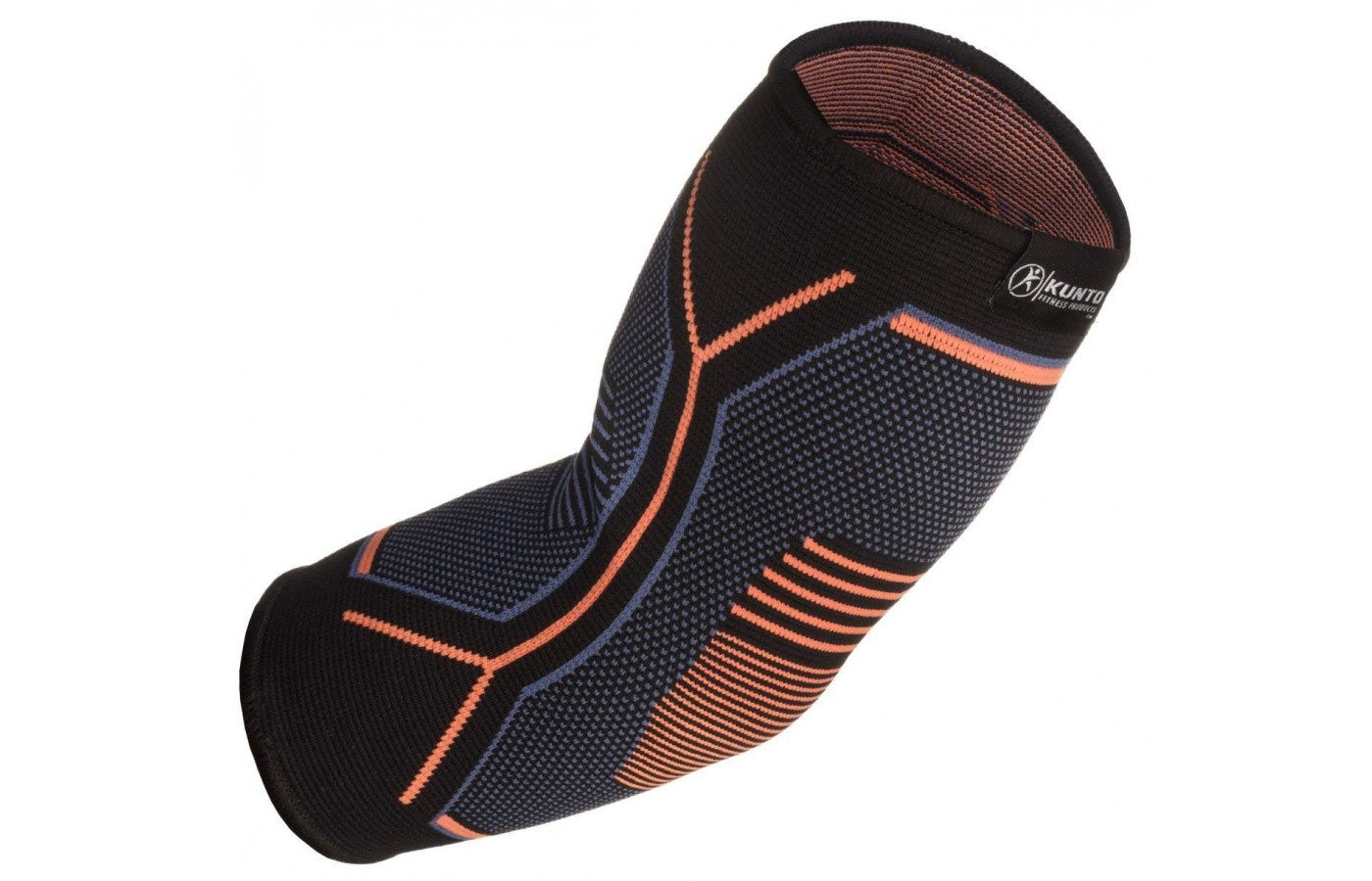 The ergonomic design of the Kunto Fitness Elbow Brace is apparent.