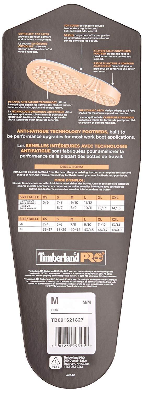 TimberlandProInsolesBackPackaging