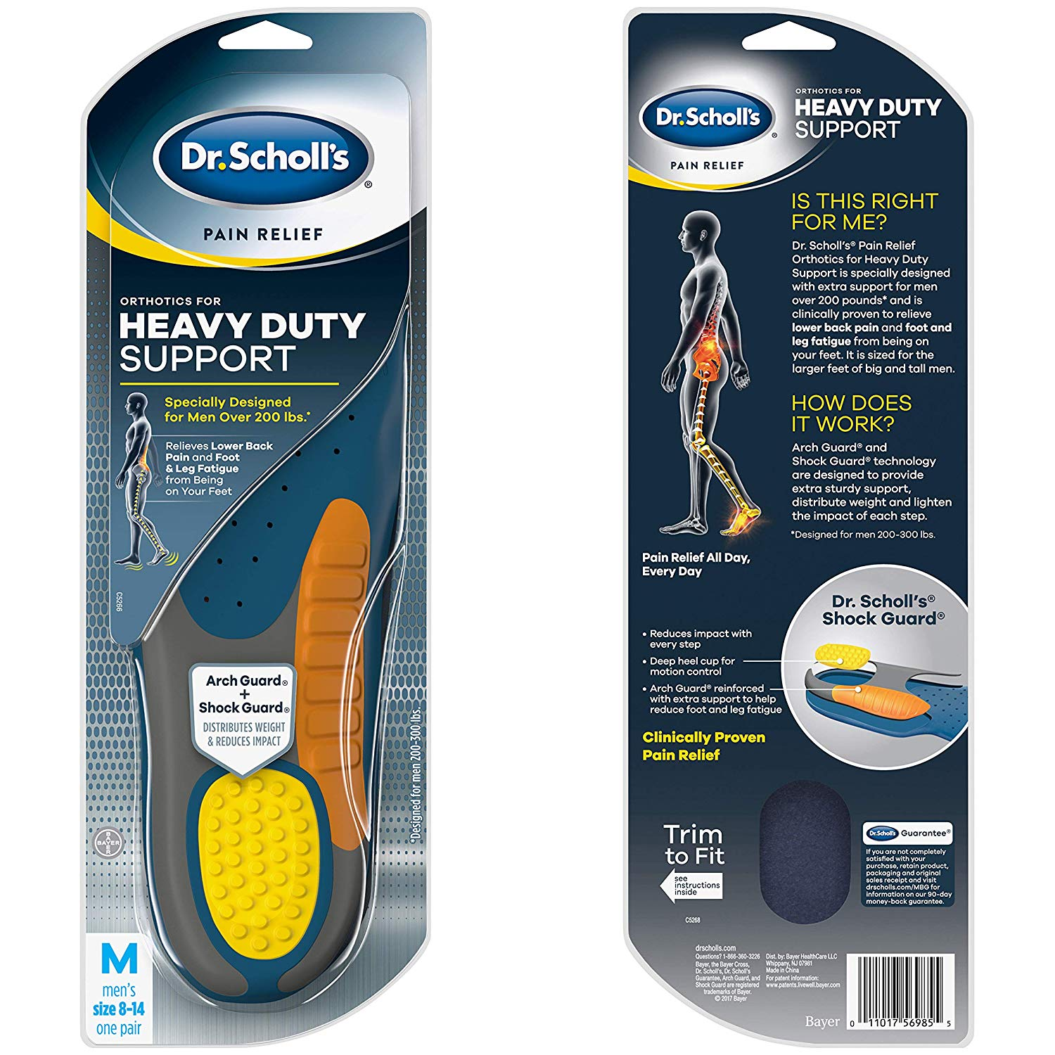DrScholl'sHeavyDutySupportPackaging