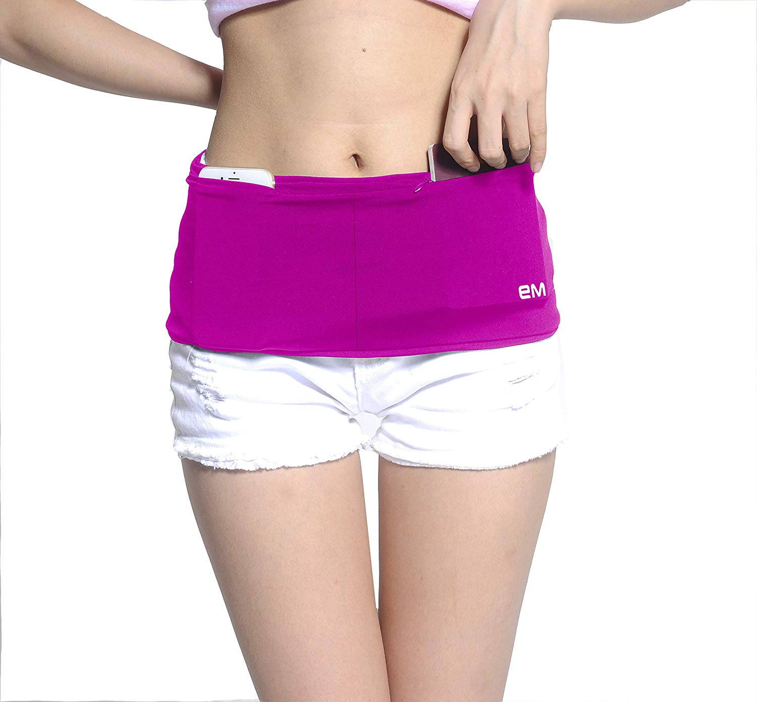 EAZYMATE Fashion Running Belt wearing