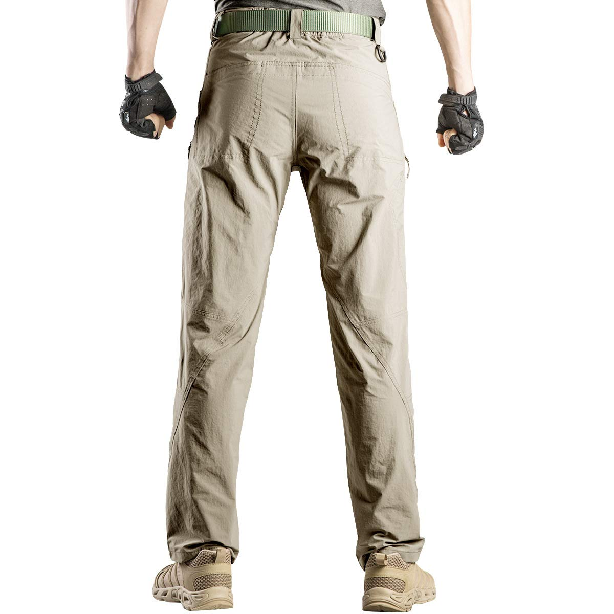 FREE SOLDIER Men's Outdoor Quick Drying back