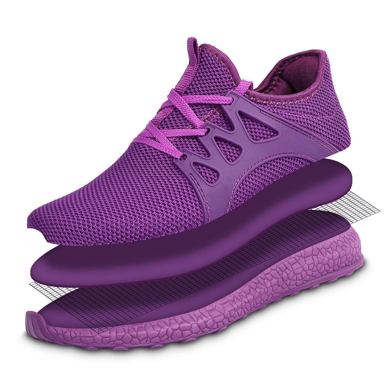 KIKOSOCKS Women's Sneakers Lightweight Walking Shoes layers