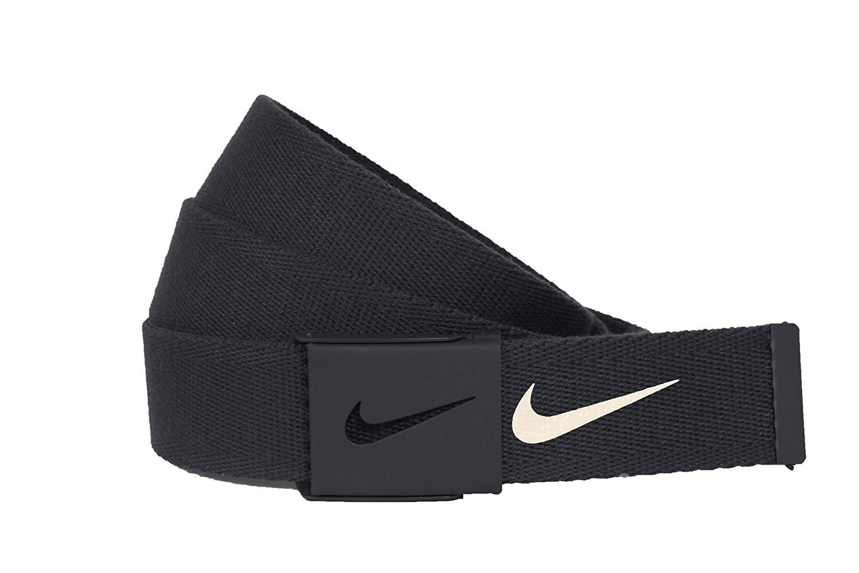 Nike Men's Tech Essential Web Belt bundle