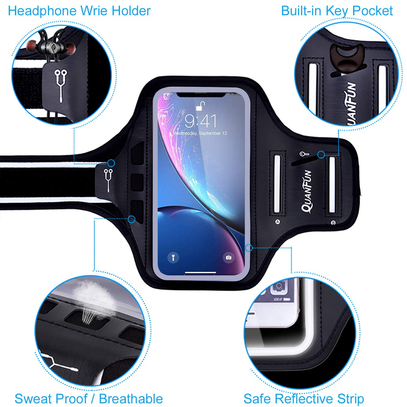 QUANFUN Compatible iPhone all features