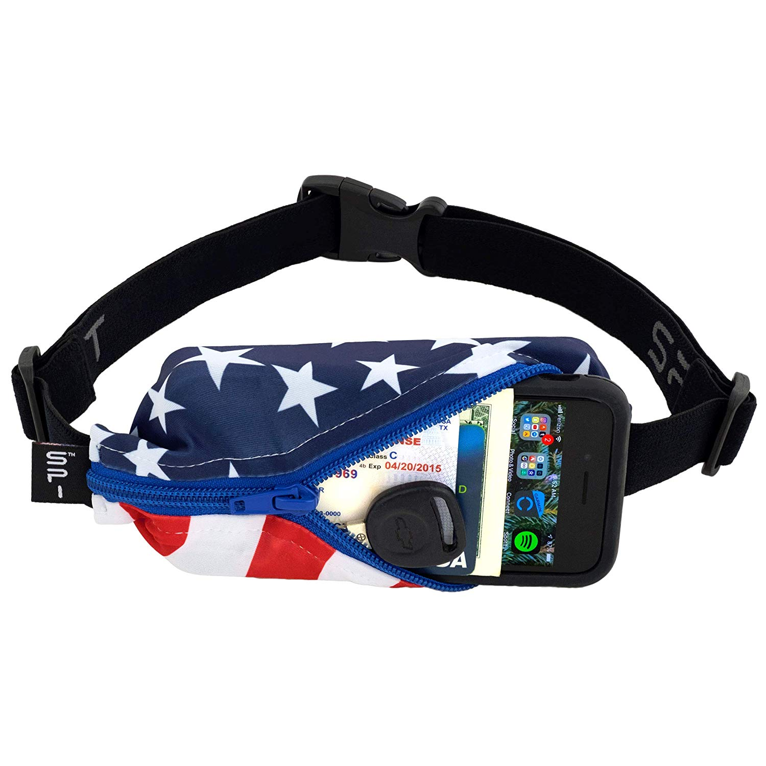 SPIbelt Running Belt flag