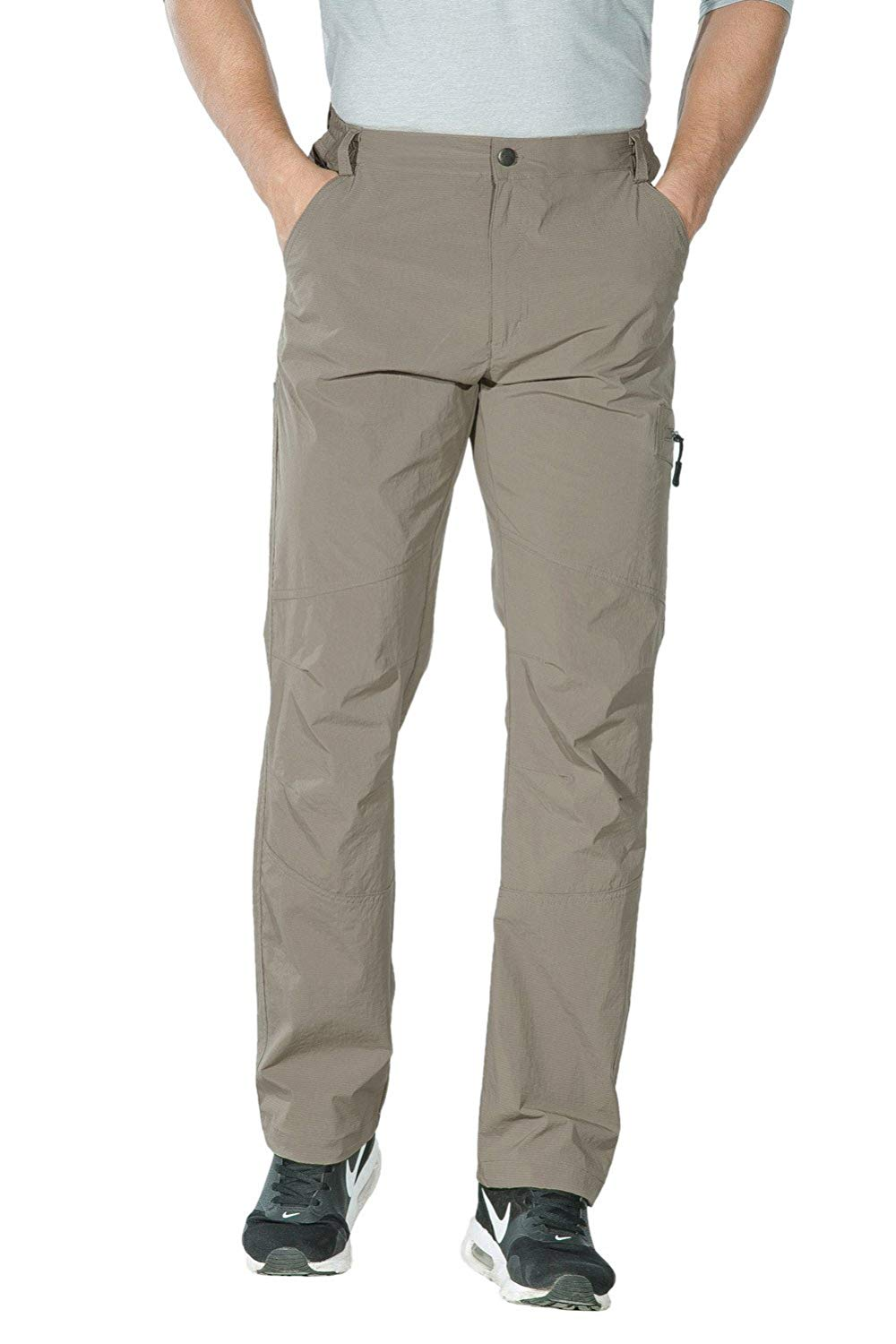 Unitop Men's Lightweight Hiking Cargo Pants front