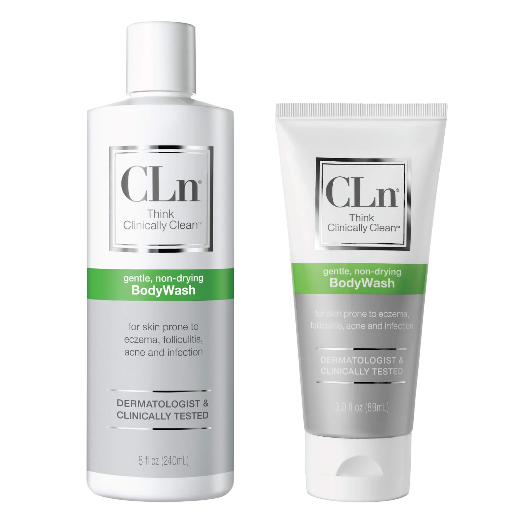 This CLn Body Wash comes in different sizes and packaging to meet your needs.