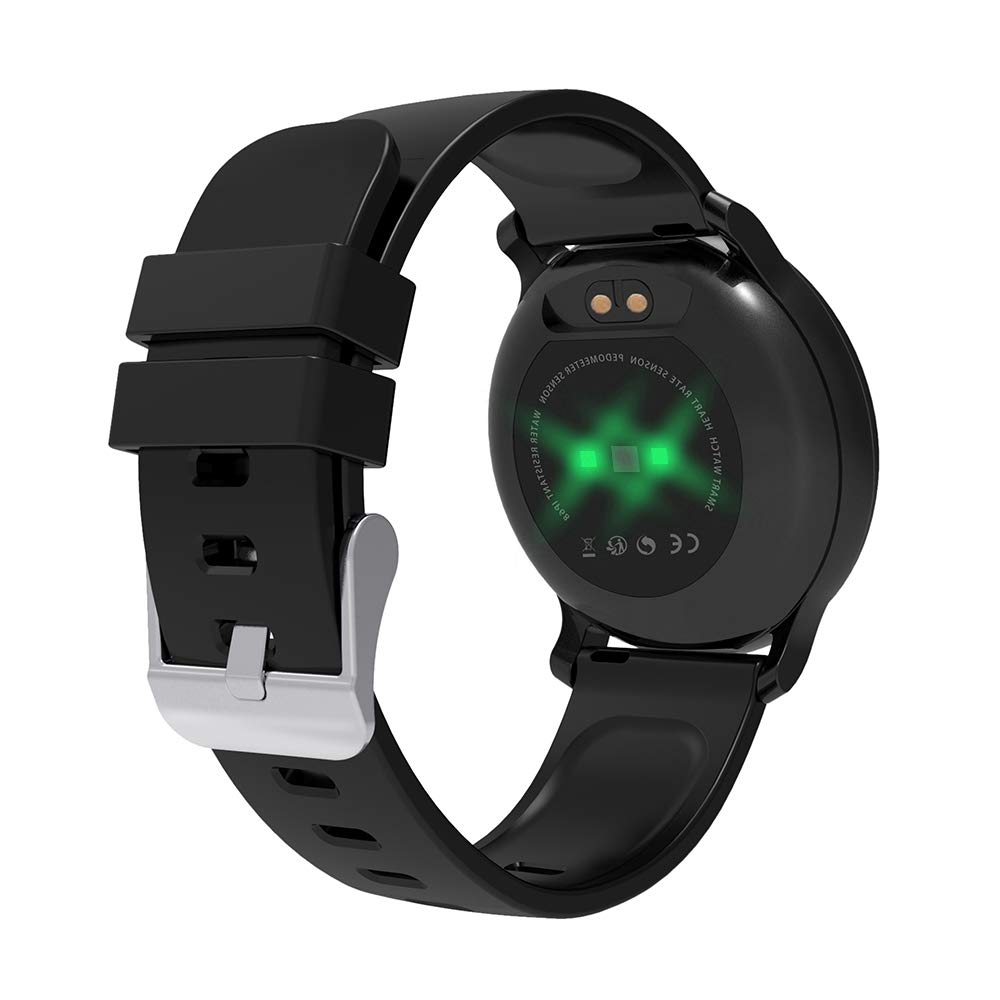 BingoFit Fitness Tracker, Smart Watch back angle