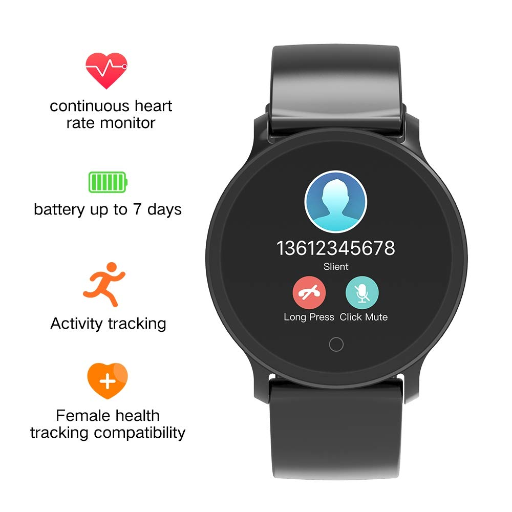 BingoFit Fitness Tracker, Smart Watch front