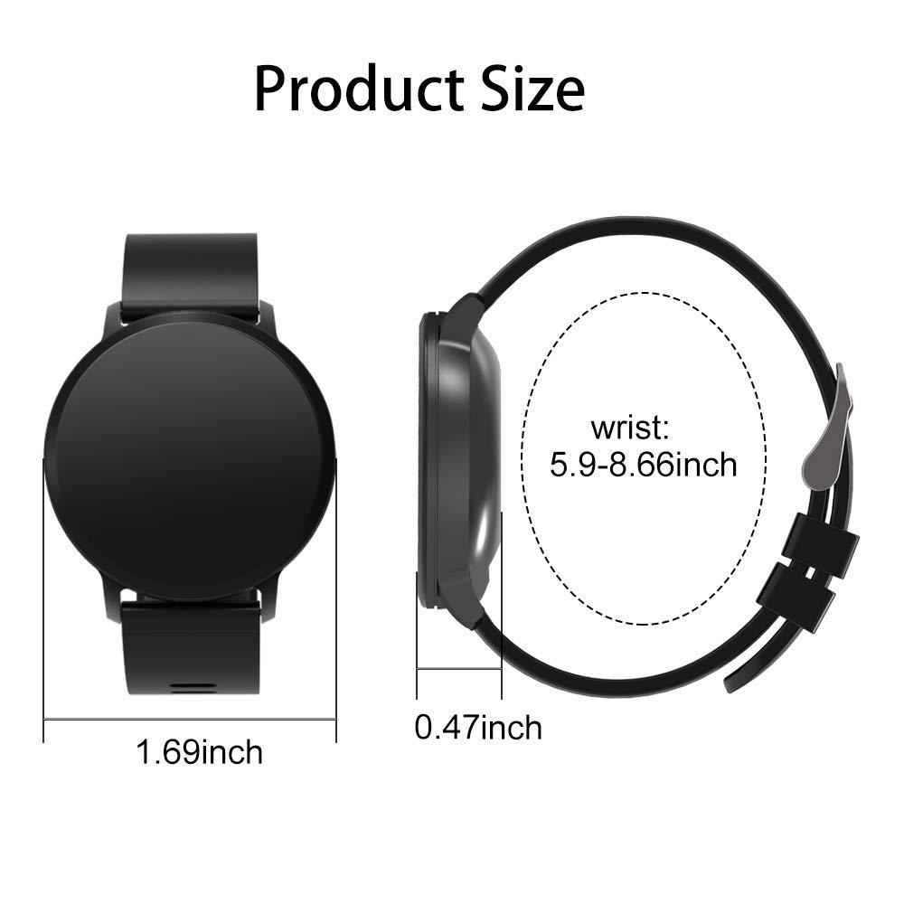 BingoFit Fitness Tracker, Smart Watch size
