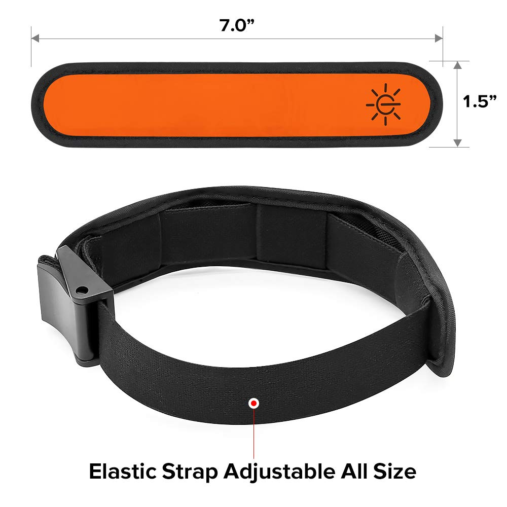 Ezer LED Armbands orange