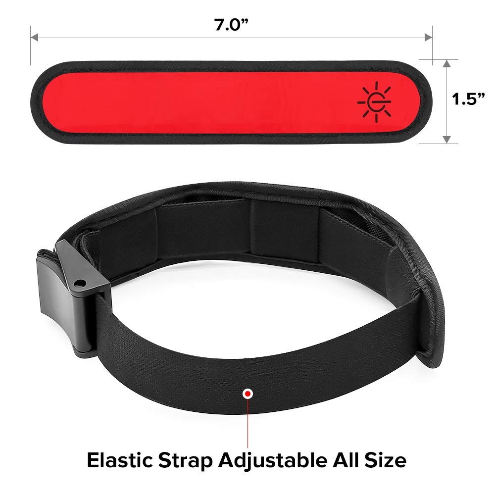 Ezer LED Armbands red