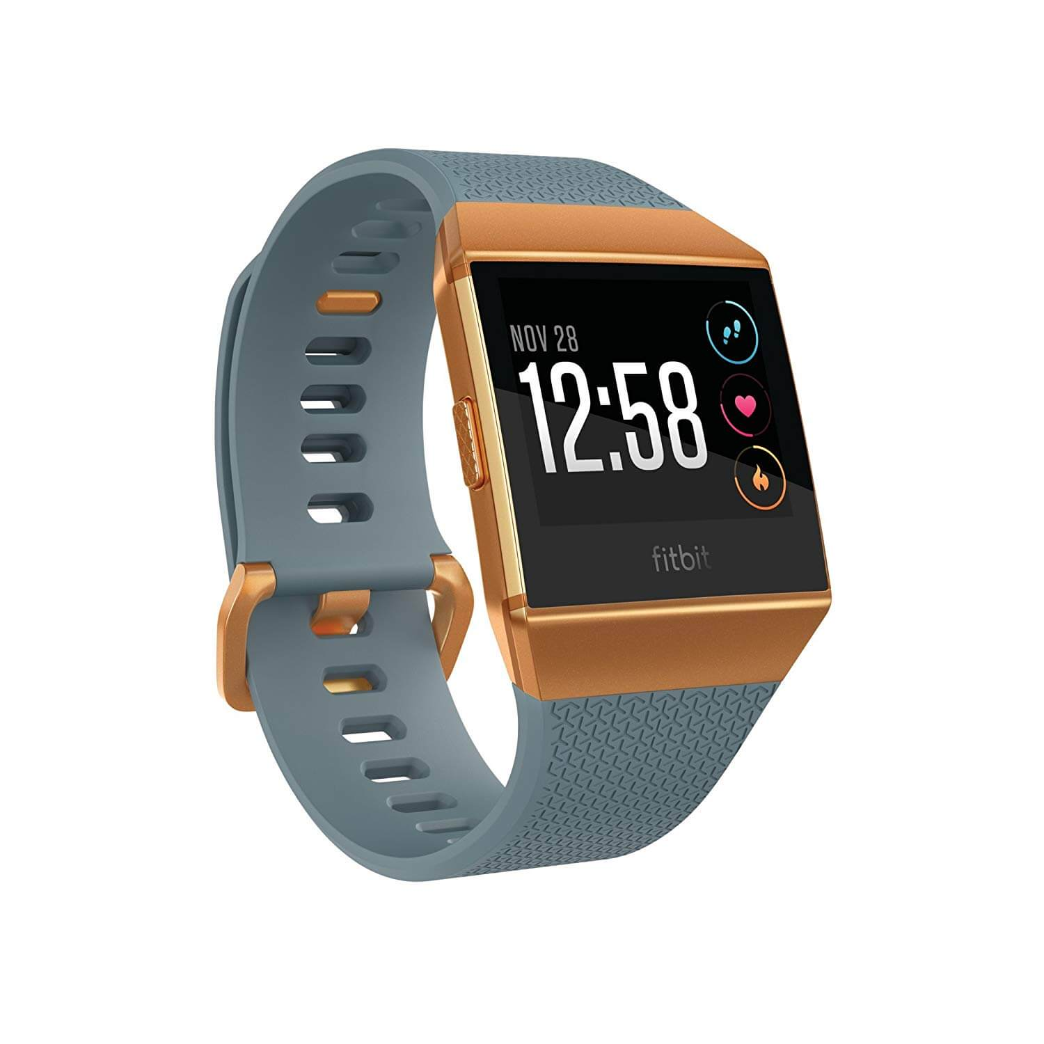Fitbit Ionic Watch slate and orange