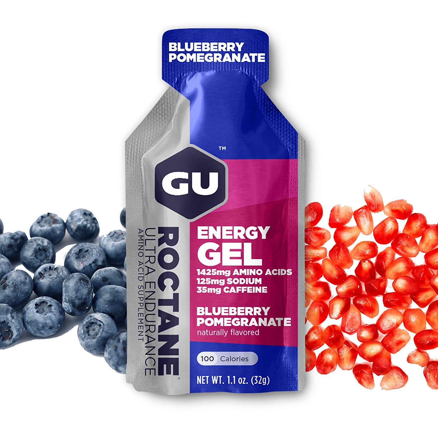 GU Energy Roctane Gel blueberry pomegranate