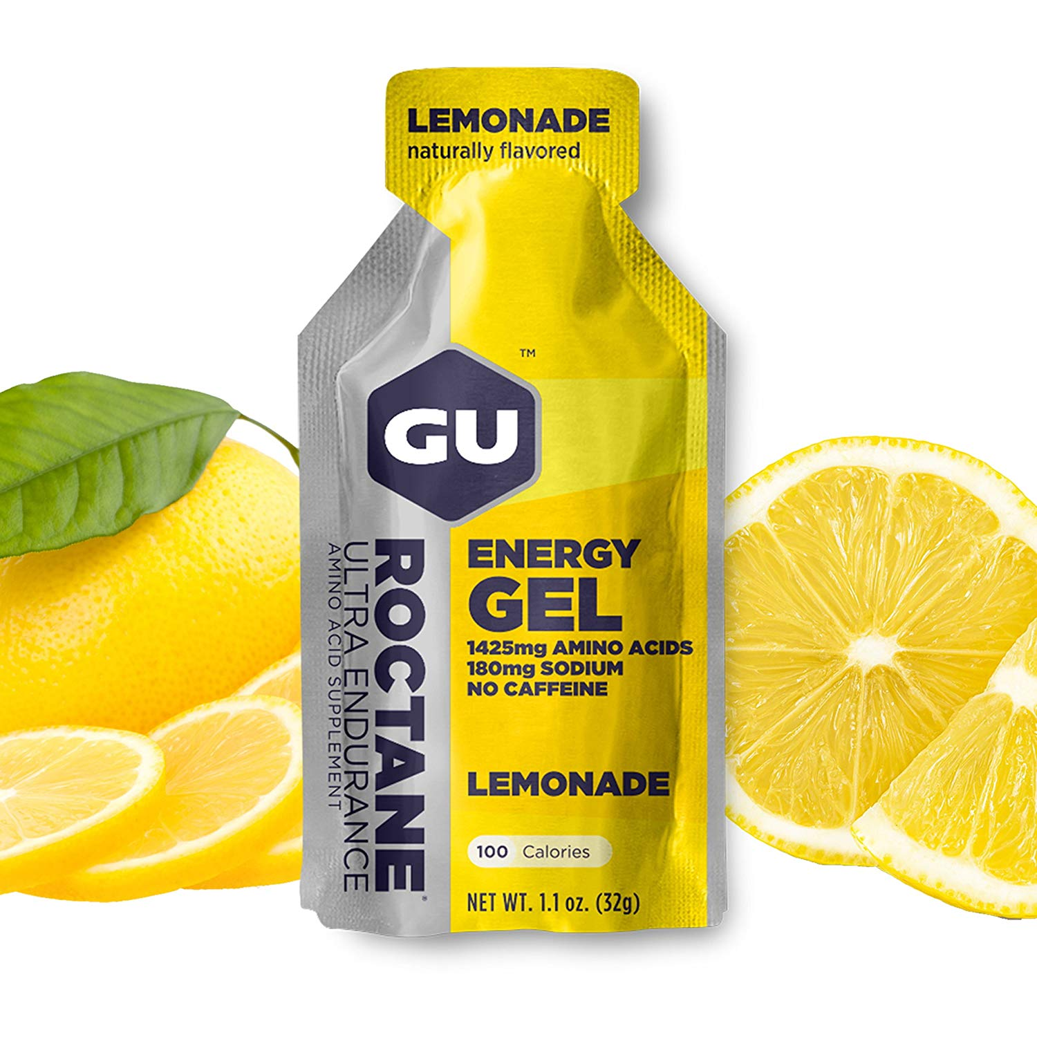 GU Energy Roctane Gel lemonade