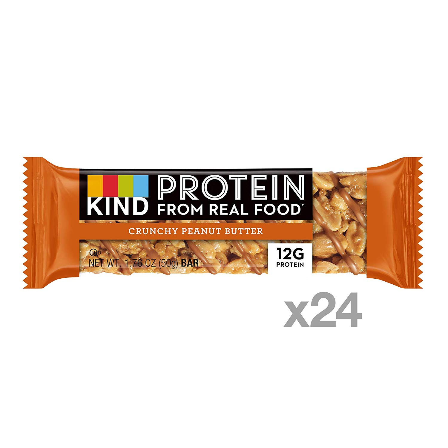 KIND Energy Protein Bars crunch peanut butter