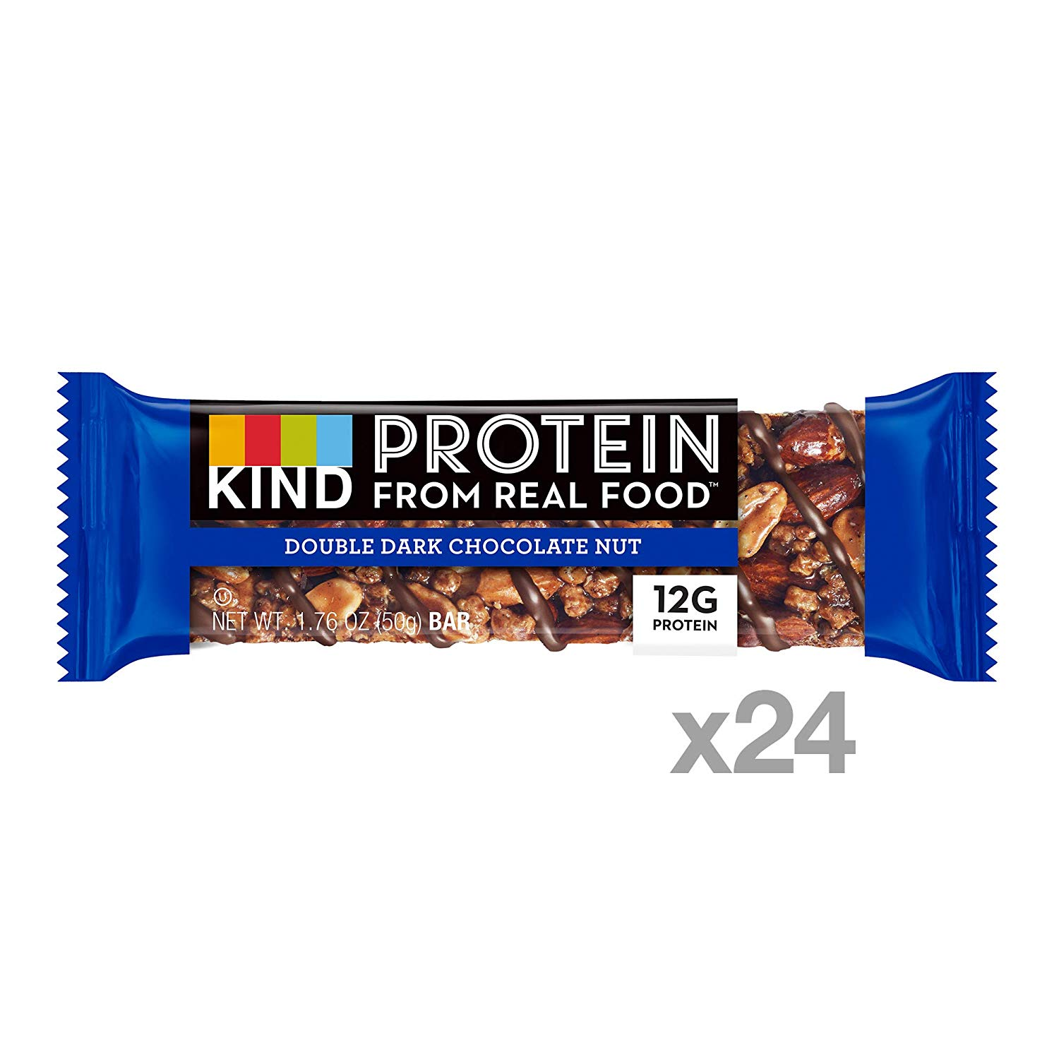 KIND Energy Protein Bars double chocolate nut