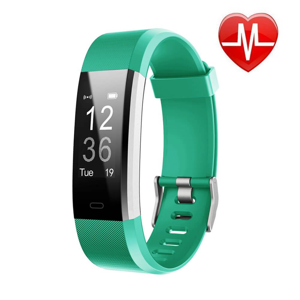 LETSCOM Fitness Tracker green
