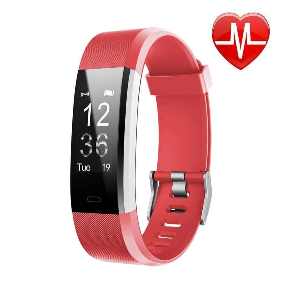 LETSCOM Fitness Tracker pink