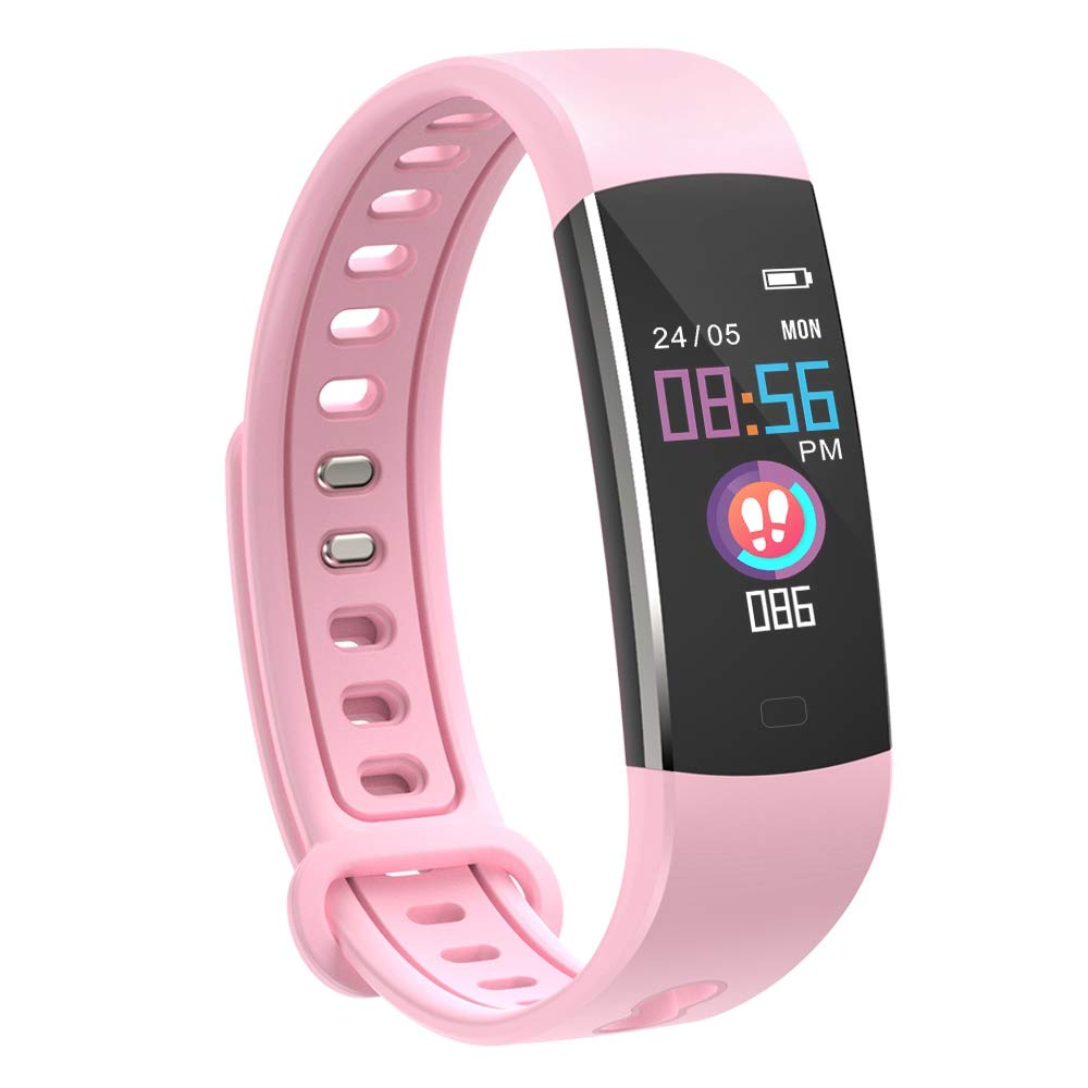moreFit Kids Fitness Tracker Watch pink