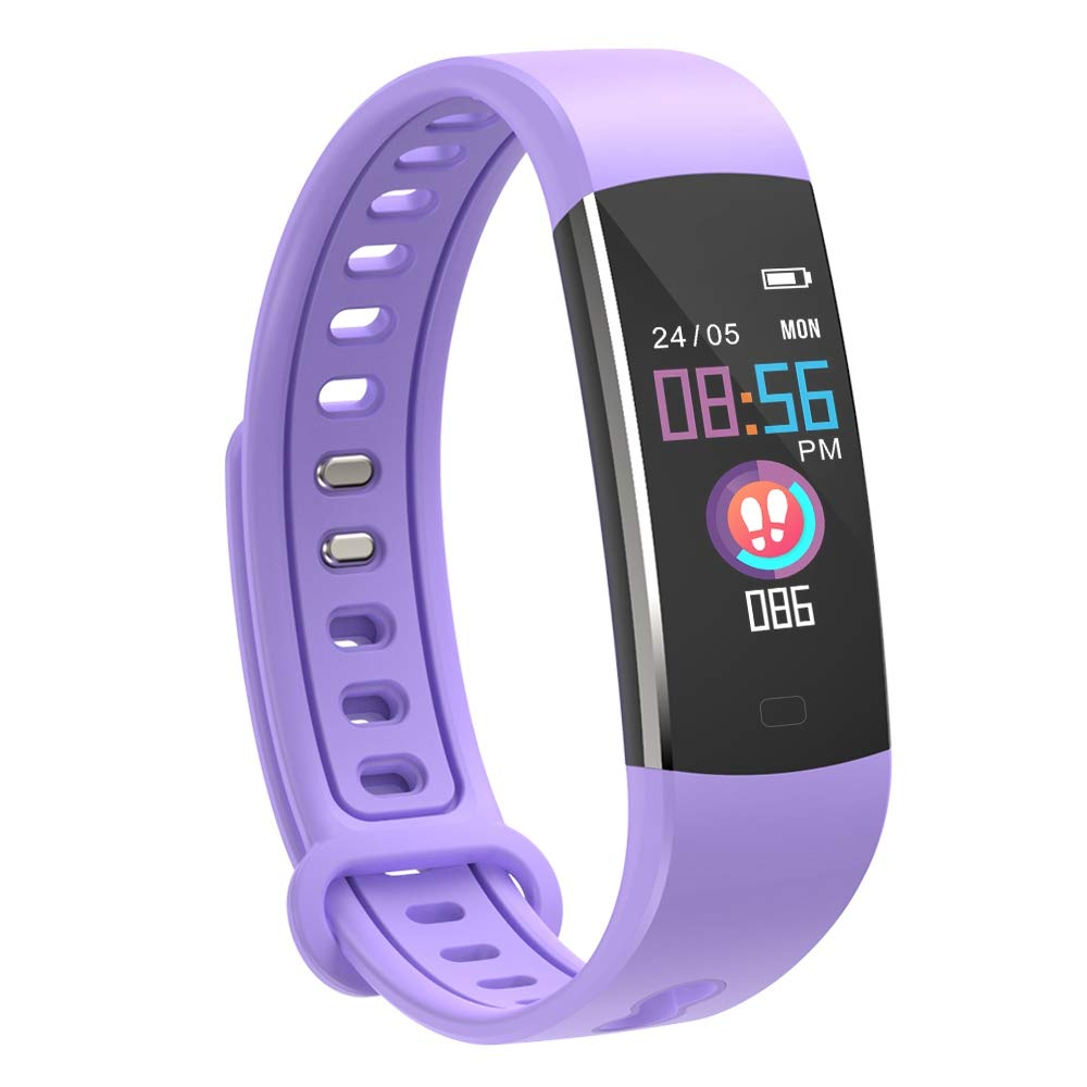 moreFit Kids Fitness Tracker Watch purple
