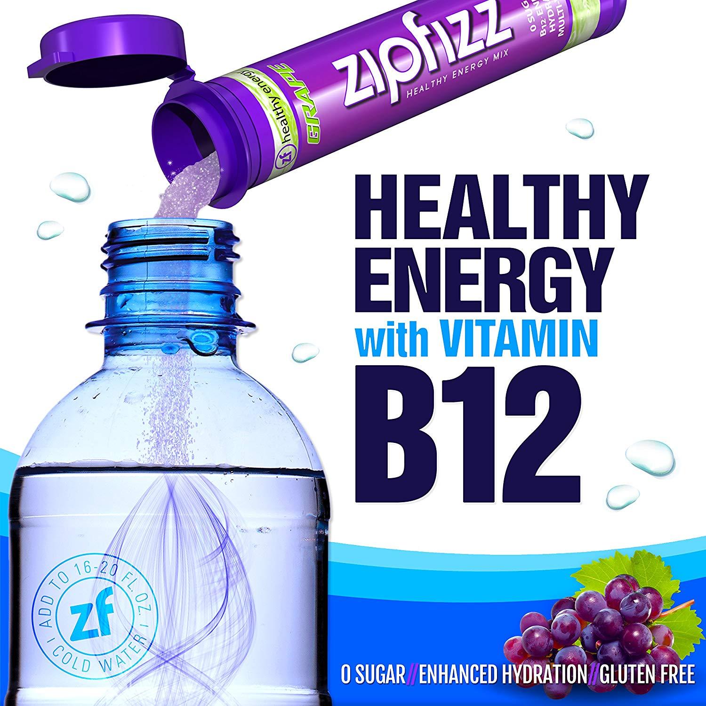 ZipfizzHealthyEnergyDrinkB12