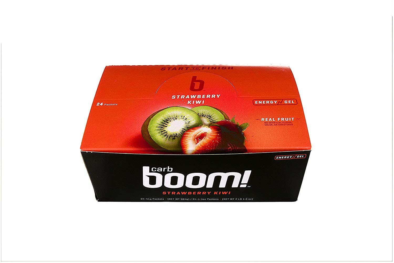 Carb Boom Energy Gel box