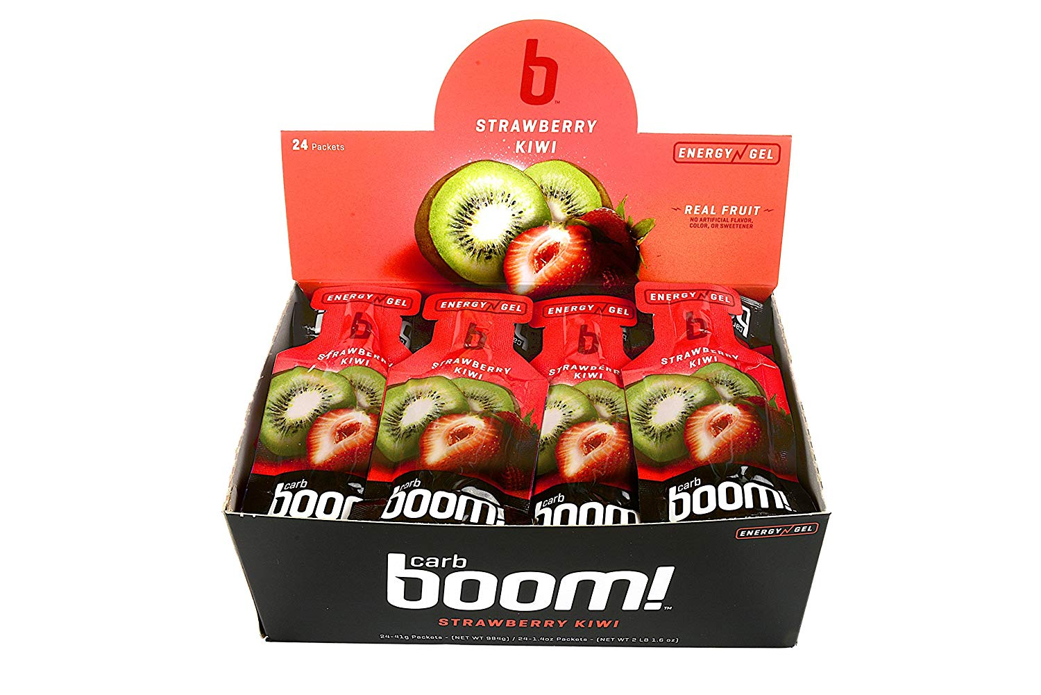 Carb Boom Energy Gel box open