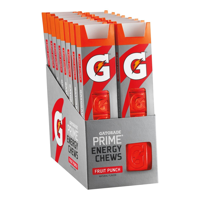 Gatorade Prime Energy Chews fruit punch