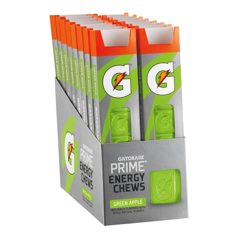 Gatorade Prime Energy Chews green apple