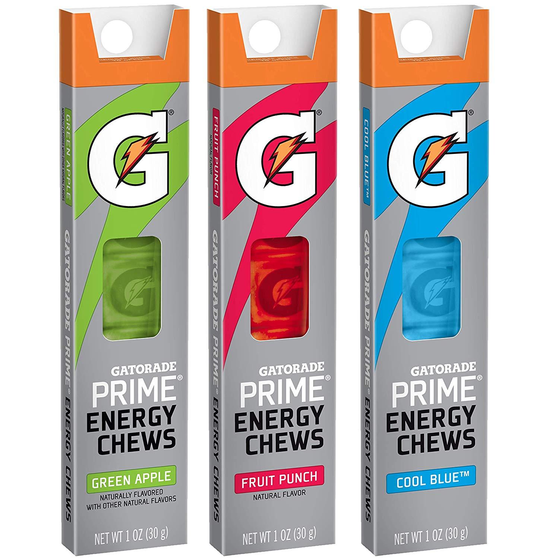 Gatorade Prime Energy Chews variety