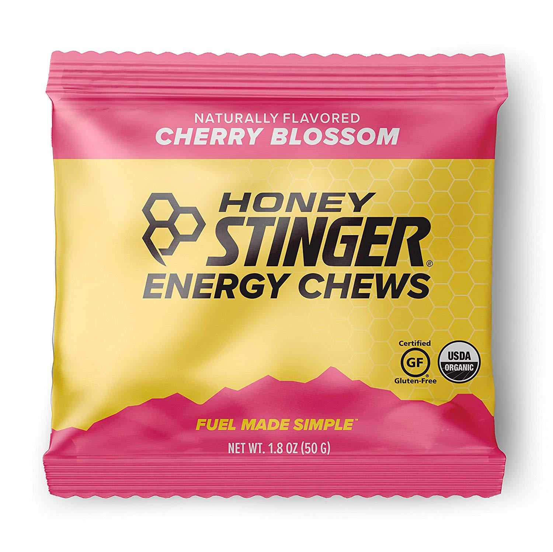 Honey Stinger Organic Energy Chews cherry blossom