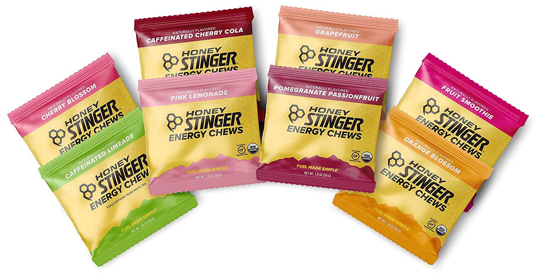 Honey Stinger Organic Energy Chews variety
