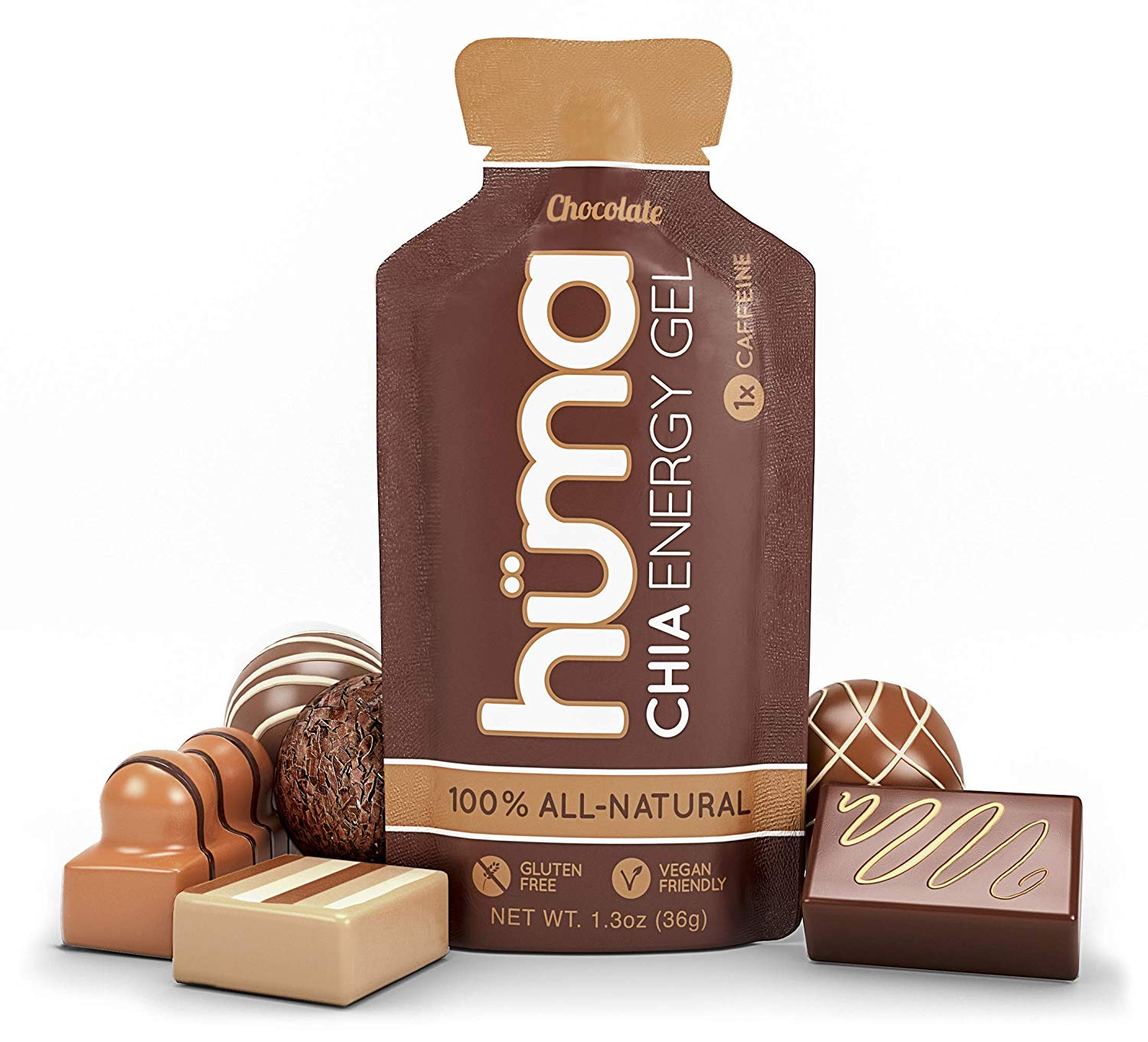 Huma Chia Energy Gel chocolate