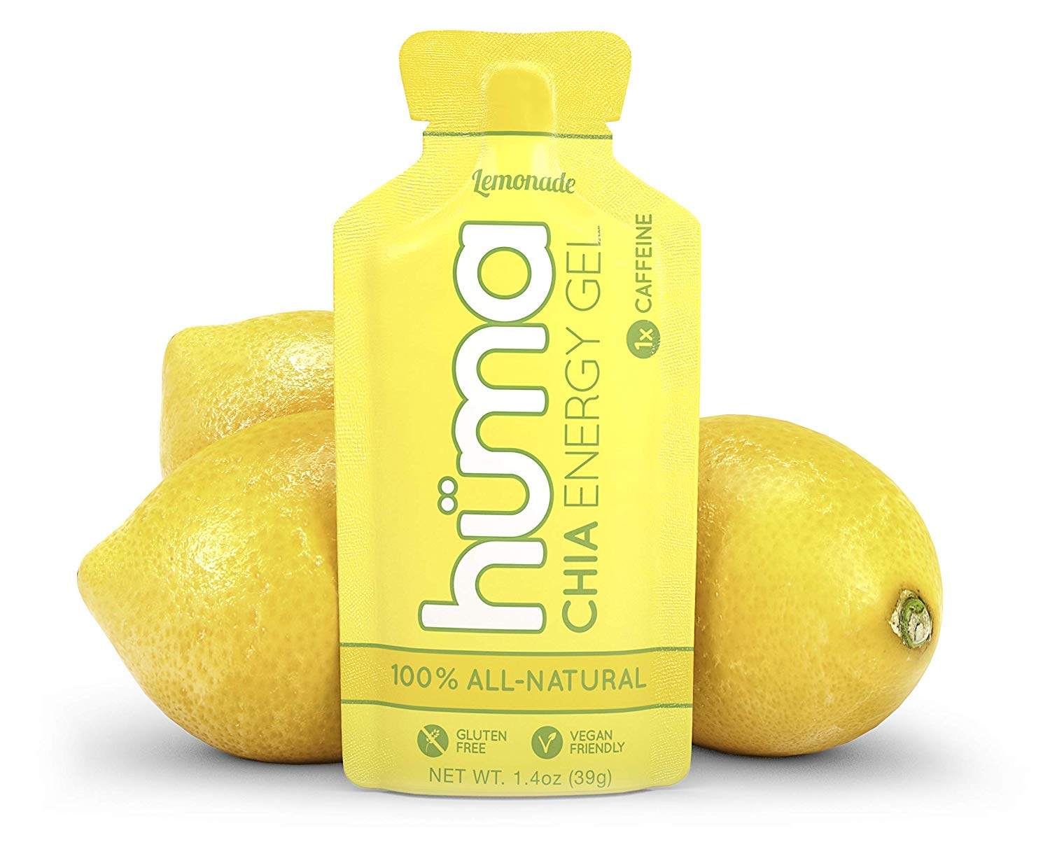 Huma Chia Energy Gel lemon