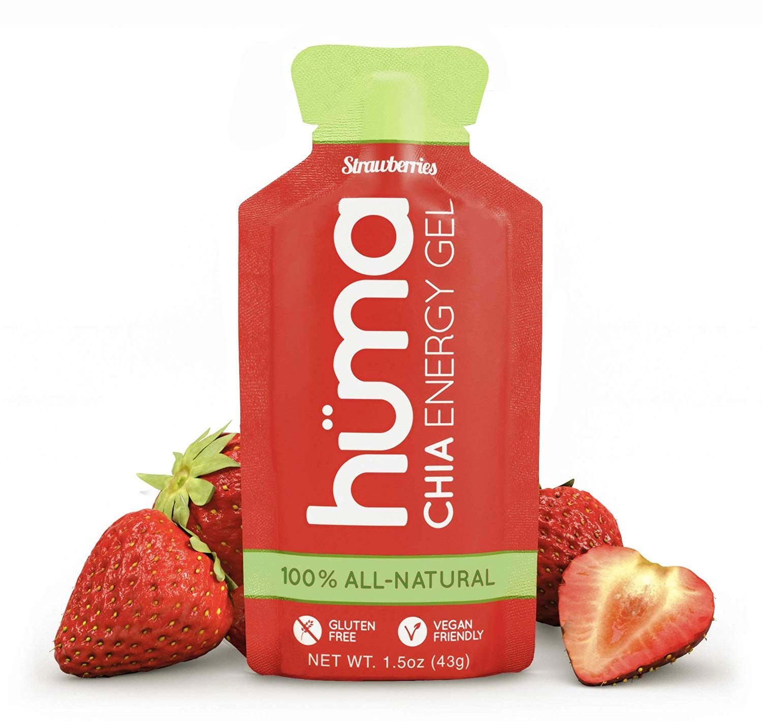 Huma Chia Energy Gel stawberry