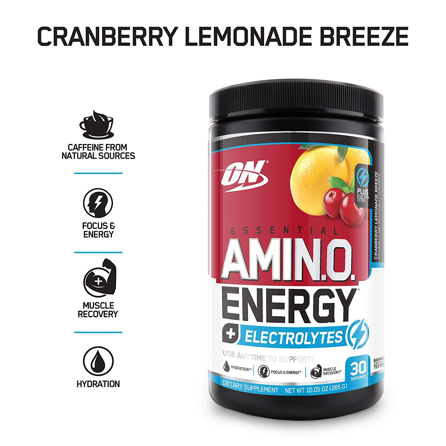 Optimum Nutrition Amino Energy cranberry lemonade