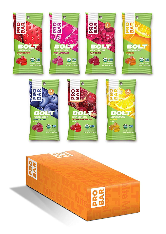 PROBAR Bolt Organic Energy Chews variety