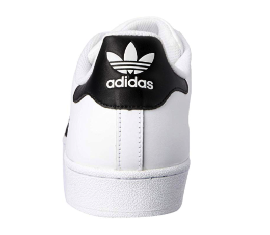 A Look at the Heel of the Classic Adidas Superstar Sneaker