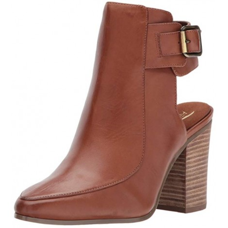 Aerosoles Square Up light brown & tan boots
