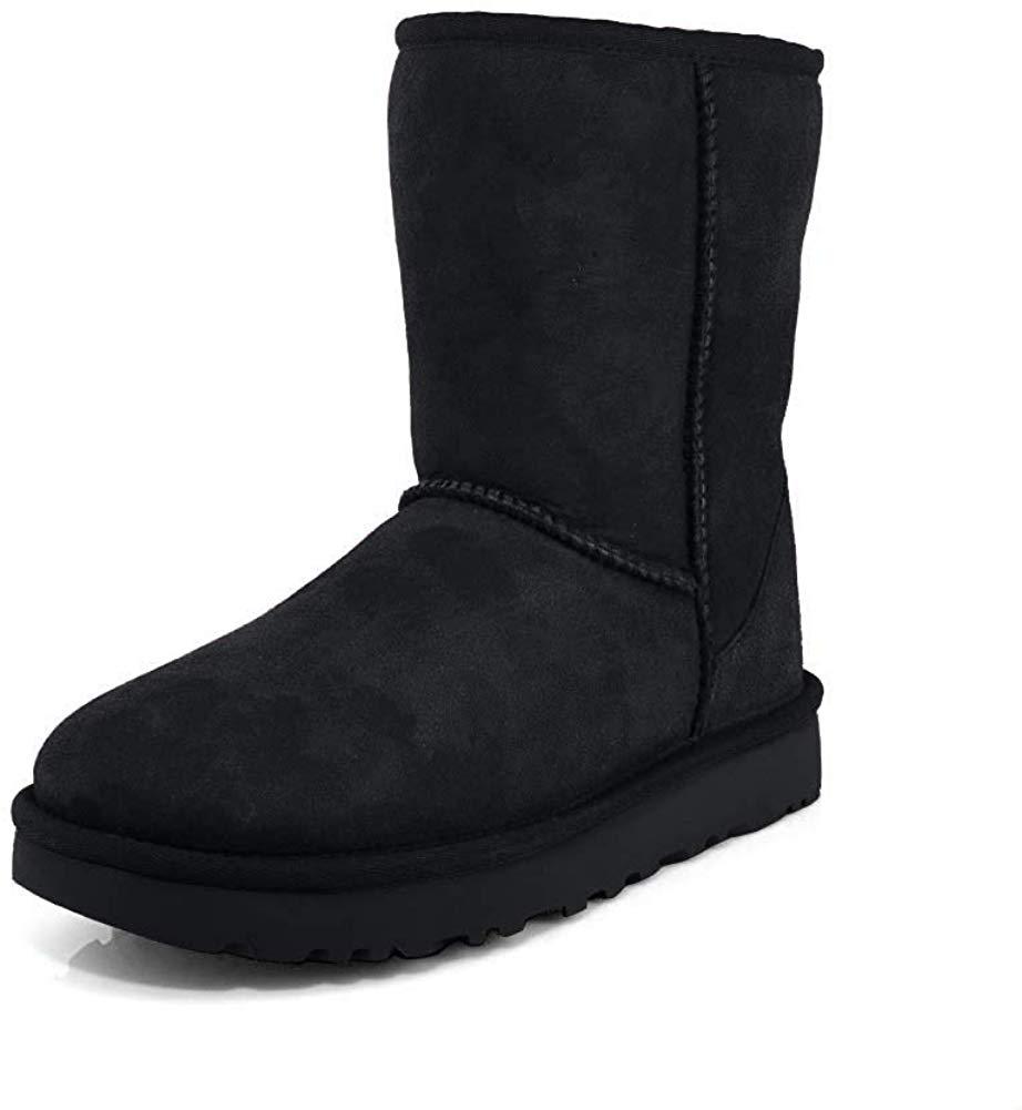 Black Ugg Boots angle