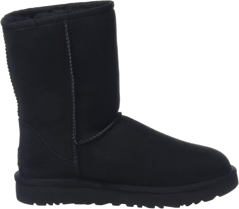 Black Ugg Boots side