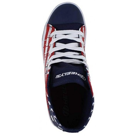 Heelys Hustle wheel shoes top view